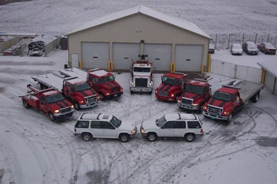 Lake Services Unlimited Towing Polk County WI